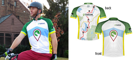 2015 Rails-to-Trails Conservancy Jersey | TrailLink.com