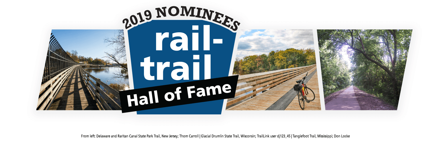2019 Rail-Trail Hall of Fame Nominees