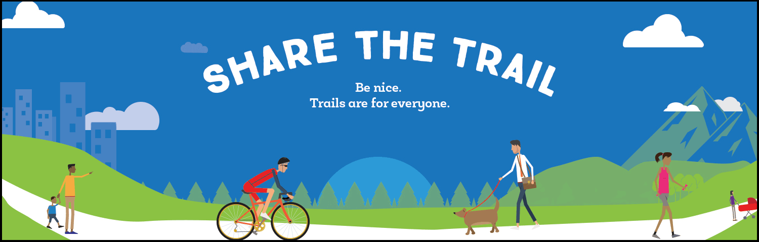 Share the Trail - Rails-to-Trails Conservancy