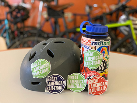 Great American Rail-Trail Sticker