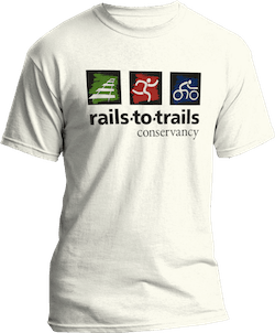 Rails-to-Trails t-shirt