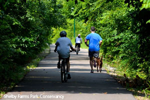 Shelby Farms Greenline | Shelby Farms Park Conservancy