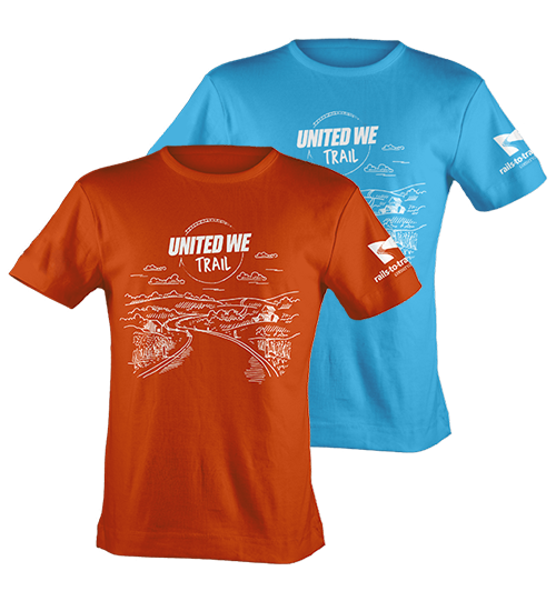 United We Trail T-shirt
